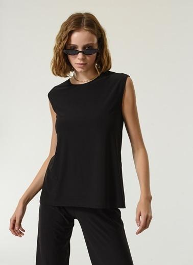 NGSTYLE NGSTYLE Kadın Örme Fit Basic Bluz Siyah